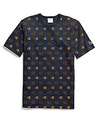 Champion Life® Men's Heritage Tee, All Over Logo
