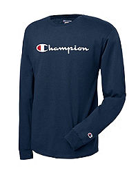 Champion Life® Script Logo Long-Sleeve Tee