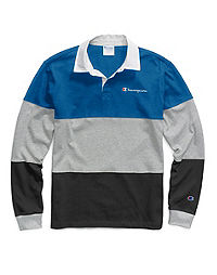 Champion Life® Men's Colorblock Rugby Shirt