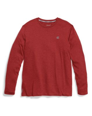Champion Double Dry® Men's Heather Long-Sleeve Tee