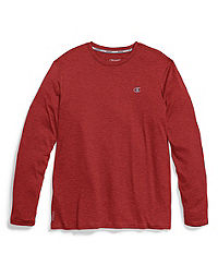 667051dc8 Champion Double Dry® Men's Heather Long-Sleeve Tee