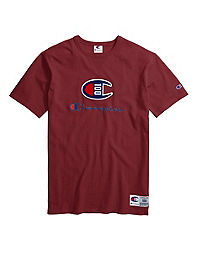 Champion Century Collection Men's Tee, Embroidered Logo