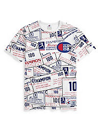 Champion Century Collection Men's Tee, Chainstitch Big C Logo