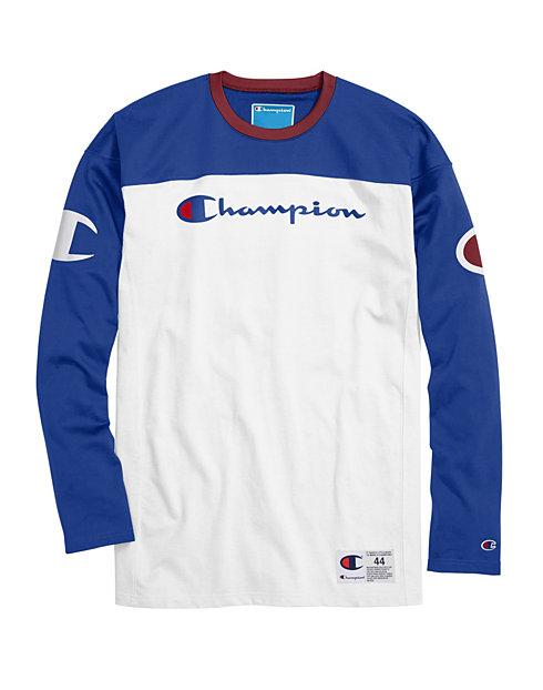 0d1056c5341c Champion Life® Men's Football Jersey, Script + Big C Logo | Champion