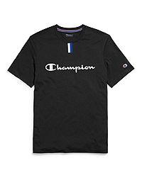 Champion Men's Tee, Script Logo