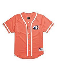 Champion Life® Men's Mesh Baseball Jersey, Big C Logo