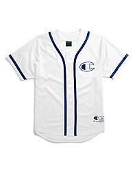 Champion Life® Men's Mesh Baseball Jersey, Big C Logo