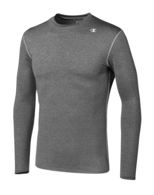 Champion Double Dry® Long-Sleeve Men's Compression T Shirt