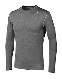 2bbda91ddbc3b1 Champion Double Dry® Long-Sleeve Men s Compression T Shirt