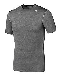 Champion Double Dry® Short-Sleeve Men's Compression T Shirt