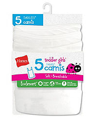 Hanes Toddler Girls' EcoSmart™ Cami P5