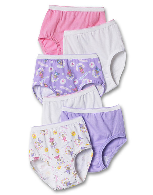 ae07f8f12ee7 Hanes TAGLESS Toddler Girls' Cotton Briefs | 1a0531
