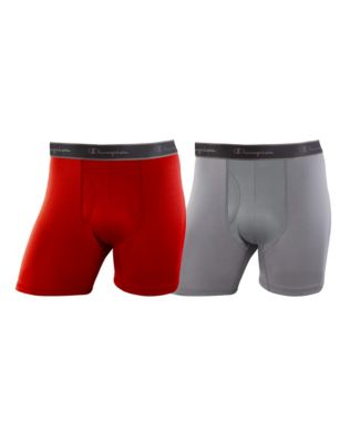 Champion Men's Tech Performance Boxer Briefs 2-pack