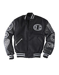 33f2b4b206ae Exclusive Champion Life® Men s Wool Varsity Jacket With Leather Sleeves
