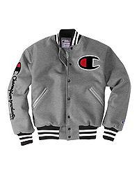 Exclusive Champion Life® Men's Wool Varsity Jacket