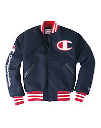 Exclusive Champion Life® Men's Wool Varsity Jacket