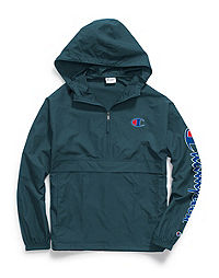 Champion Unisex Packable Jacket, Vertical Logo