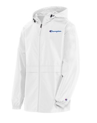 Champion Men's Full Zip Jacket, Script Logo