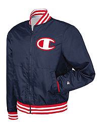 Champion Life® Men's Satin Baseball Jacket