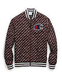 Champion Life® Men's Satin Logo Baseball Jacket