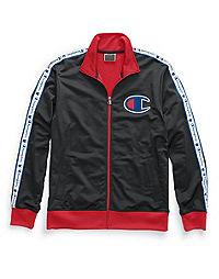 Champion Life® Men's Track Jacket, Chain Stitch Big C Logo