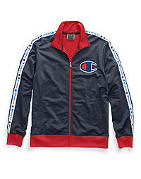 Champion Life® Men's Track Jacket, Chain Stitch Big C Logo