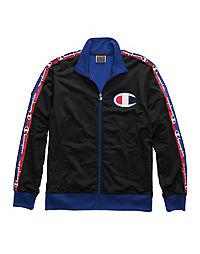Champion Life® Men's Track Jacket, Big C & Logo Taping