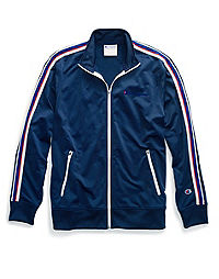 Champion Life® Men's Track Jacket, Embroidered Logo