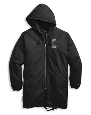 Champion Life® Men's Sideline Jacket, C Logo + Block Arch Logo