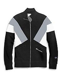 Champion Life® Men's Reverse Weave® Colorblock Track Jacket, Script Logo