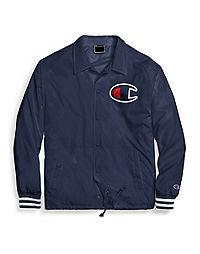 Champion Life® Men's Satin Coaches Jacket, Big C Logo