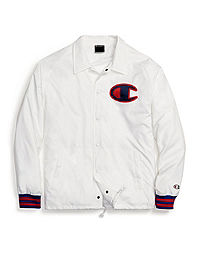 Champion Life® Men's Satin Coaches Jacket, Big C Logo