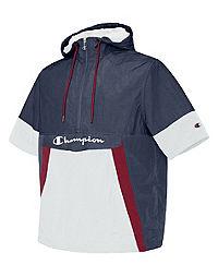Champion Life® Men's Woven Anorak Short-Sleeve Jacket