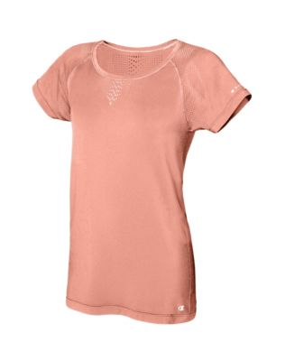 Champion Vapor® Women's Seamless Mesh Tee