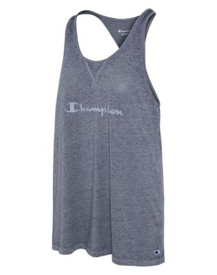 Champion Women's Authentic Wash Tank, Script Logo