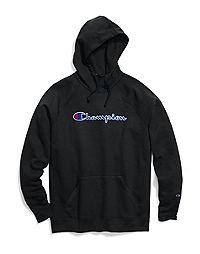 Champion Women's Powerblend® Fleece Pullover Hoodie, Felt Logo
