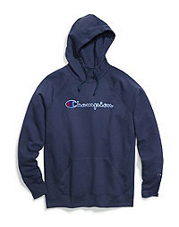 Champion Women's Powerblend® Fleece Pullover Hoodie, Felt Logo