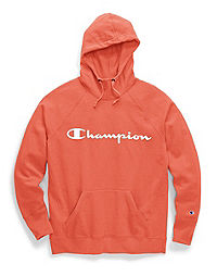 Champion Women's Powerblend® Pullover Hoodie, Script Logo