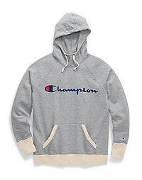 Champion Women's Powerblend® Fleece Pullover Hoodie, Script Logo