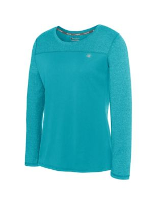 Champion Vapor® Women's Heather Long-Sleeve Tee