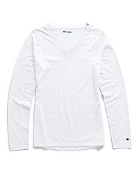 Champion Women's Authentic Wash Long-Sleeve Tee