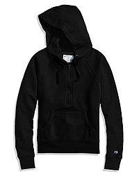 Champion Women's Powerblend® Fleece Half Zip Hoodie