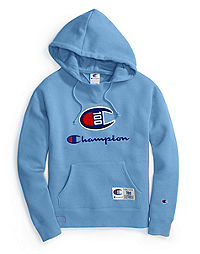 Champion Century Collection Women's Hoodie, C100 Chenille Logo