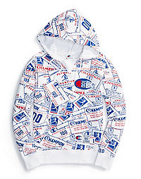 Champion Century Collection Women's Hoodie, Chainstitch Big C Logo
