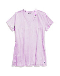 Champion Women's Jersey V-Neck Tee