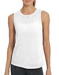 Champion Women's  Authentic Wash Muscle Tank