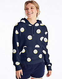 Champion Women's Campus French Terry Print Hoodie
