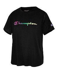 Champion Women's Sport Lightweight Tee, Gradient Logo