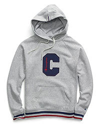 Champion Women's Heritage Fleece Pullover Hoodie, Big C