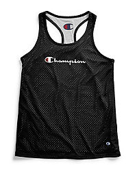 Champion Women's Reversible Mesh To Jersey Tank